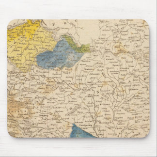 Austrian Dominions Map by Arrowsmith Mouse Pad