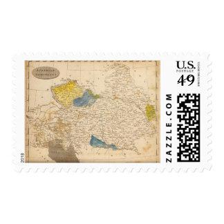 Austrian Dominions Map by Arrowsmith Postage