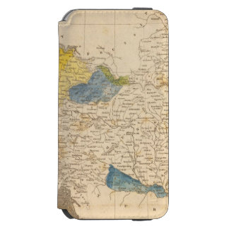 Austrian Dominions Map by Arrowsmith Incipio Watson™ iPhone 6 Wallet Case