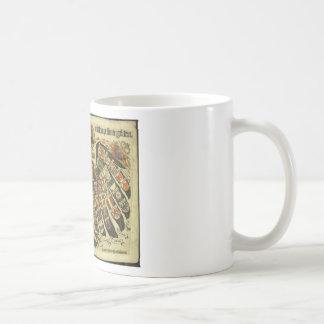 Austrian Double Eagle Coffee Mugs