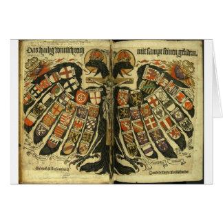Austrian Double Eagle Greeting Card