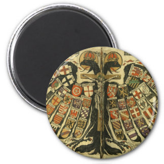 Austrian Double Eagle 2 Inch Round Magnet