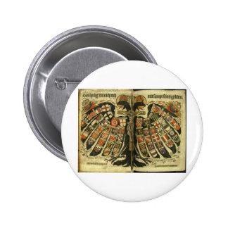Austrian Double Eagle Pinback Buttons