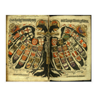 Austrian Double Eagle Postcard