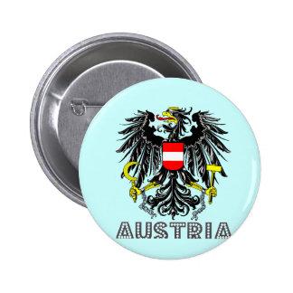 Austrian Emblem Button