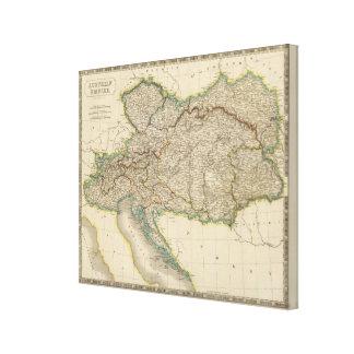 Austrian Empire 5 Stretched Canvas Print