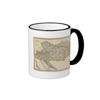 Austrian Empire 6 Coffee Mugs