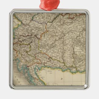 Austrian Empire 6 Christmas Tree Ornaments