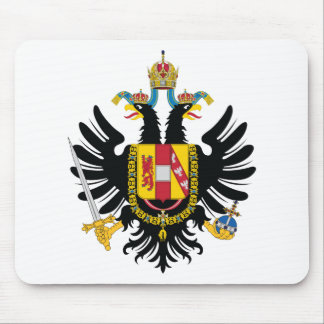 Austrian Empire Coat of Arms (1815) Mouse Pad
