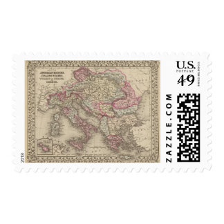 Austrian Empire, Italy, Turkey in Europe, Greece 2 Stamps