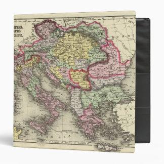 Austrian Empire, Italy, Turkey in Europe, Greece Binder