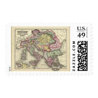 Austrian Empire, Italy, Turkey in Europe, Greece Postage Stamps