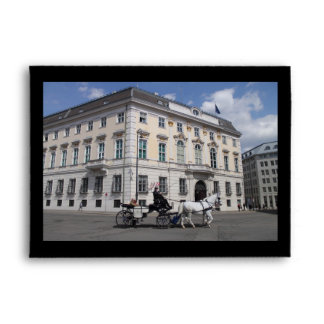 Austrian Federal Chancellery at Ballhausplatz Envelope