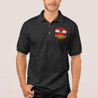 Austrian Flag 2 Polo Shirt
