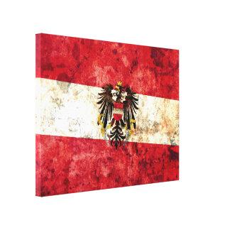 Austrian Flag Canvas Print