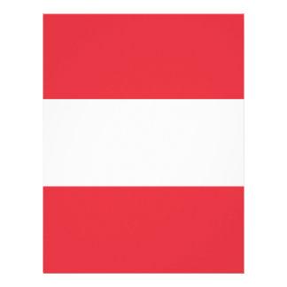 Austrian Flag Letterhead