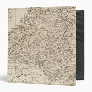 Austrian French and Dutch Netherlands 3 Ring Binder