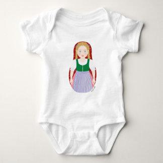 Austrian Girl Matryoshka Infant Creeper