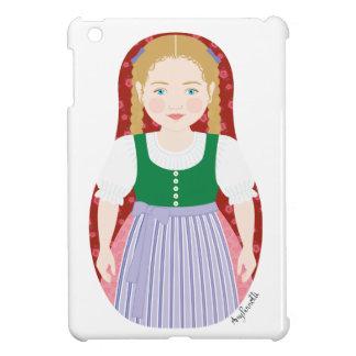 Austrian Girl Matryoshka iPad Mini Case