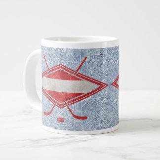 Austrian Hockey Flag Österreich Jumbo Mug