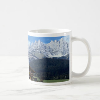 Austrian landscape coffee mug