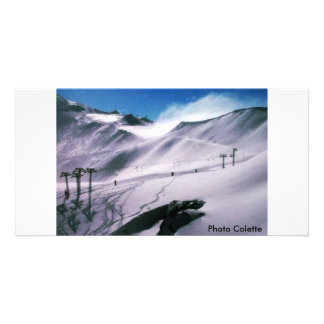 Austrian Mountain Photo Colette Photo Card Template
