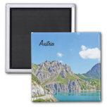 Austrian mountains - Magnet
