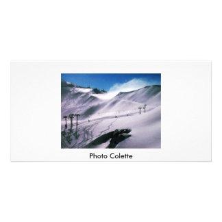Austrian Mountains Photo Colette Picture Card