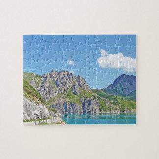 Austrian mountains - Puzzle