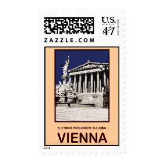 Austrian Parliament Building Vienna Postage