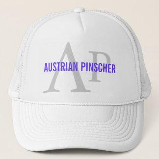 Austrian Pinscher Monogram Trucker Hat