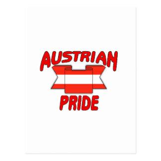 Austrian pride postcard