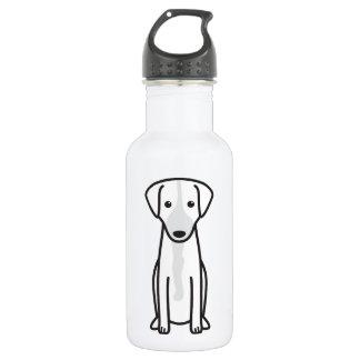 Austrian Shorthaired Pinscher Dog Cartoon Stainless Steel Water Bottle