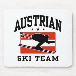 Austrian Ski Team Mouse Pad
