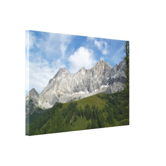 Austrian Slopes Canvas Print