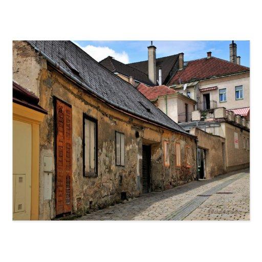 Austrian Street Postcard