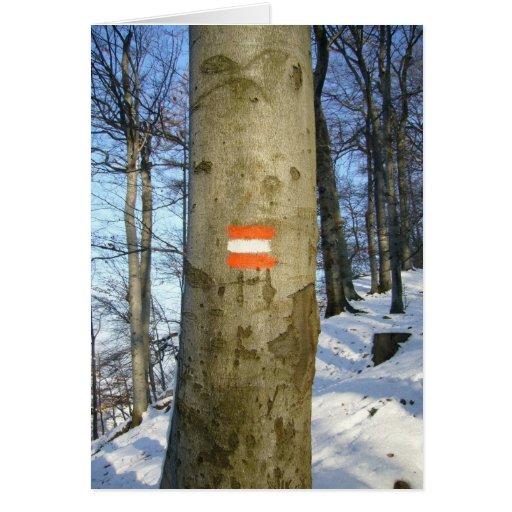 austrian tree card