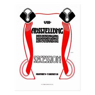 Austrian Vienna Jugendstil Art Nouveau expo Postcard