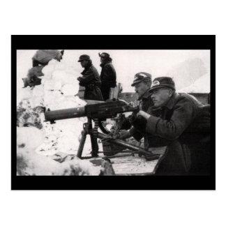 Austro-Hungarian Machine Gunners Postcards