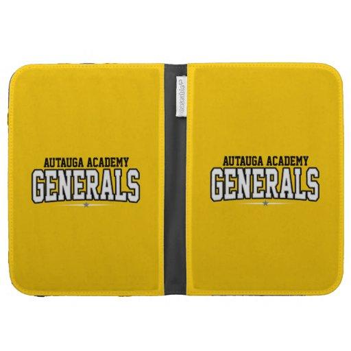 Autauga Academy; Generals Kindle Folio Cases