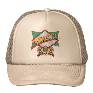 Authentic 12th Birthday Gifts Trucker Hat