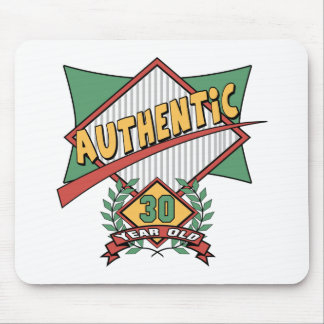 Authentic 30th Birthday Gifts Mousepads