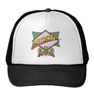 Authentic 90th Birthday Gifts Mesh Hat