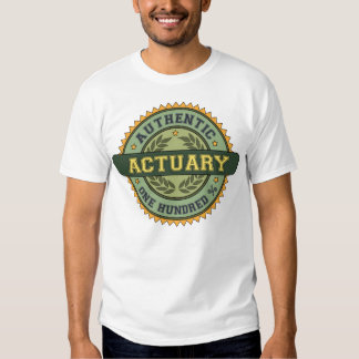 Authentic Actuary Tee Shirt