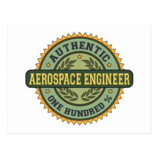 Authentic Aerospace Engineer Post Cards