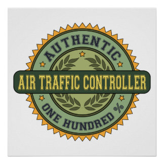 Authentic Air Traffic Controller Poster