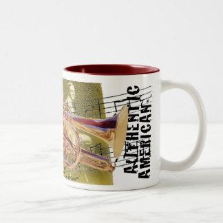 Authentic American Jazz Art Deluxe Mug