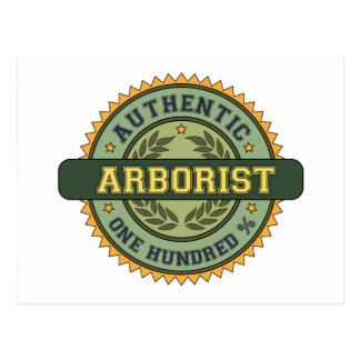Authentic Arborist Postcard