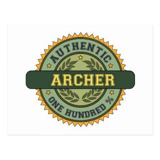 Authentic Archer Postcards