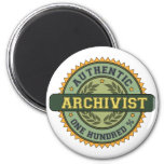 Authentic Archivist Refrigerator Magnets